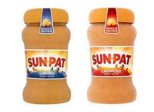 Half price Sunpat Peanut Butter Smooth / Crunchy 400g for £1.50 @ Tesco (from 15/02)