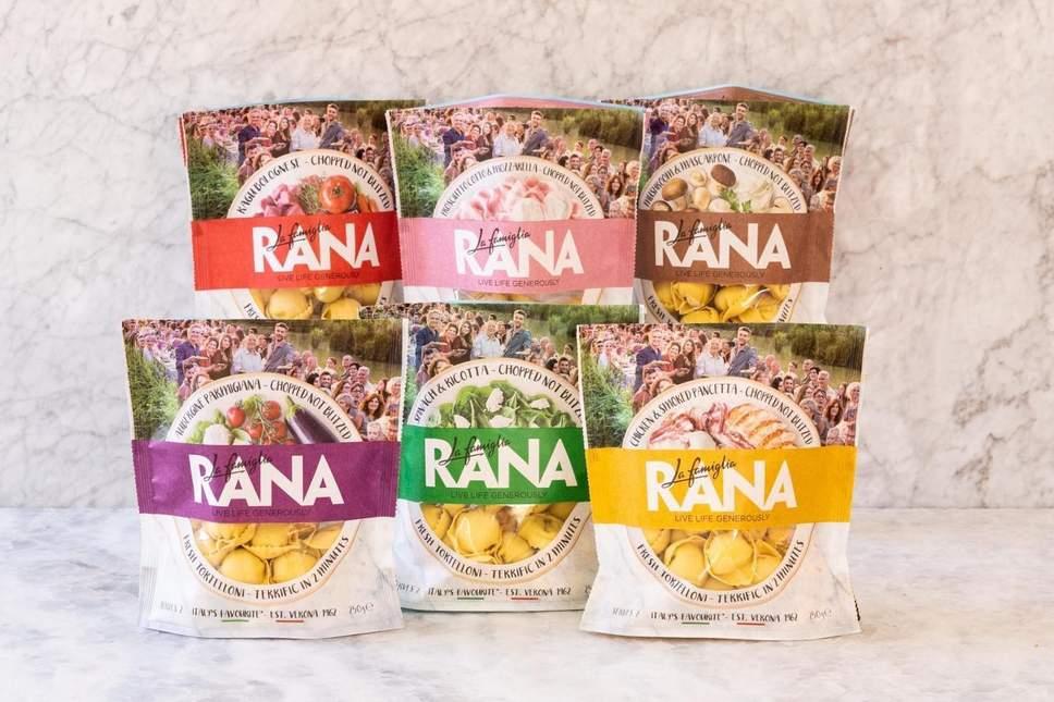 FREE La Famiglia RANA 250g pasta pack - Voucher link from Evening Standard