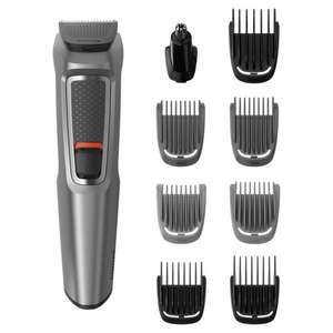 Philips Series 3000 9-in-1 Multi Grooming Kit for Beard and Hair with Nose Trimmer Attachment - MG3722/33 - £15 @ Tesco
