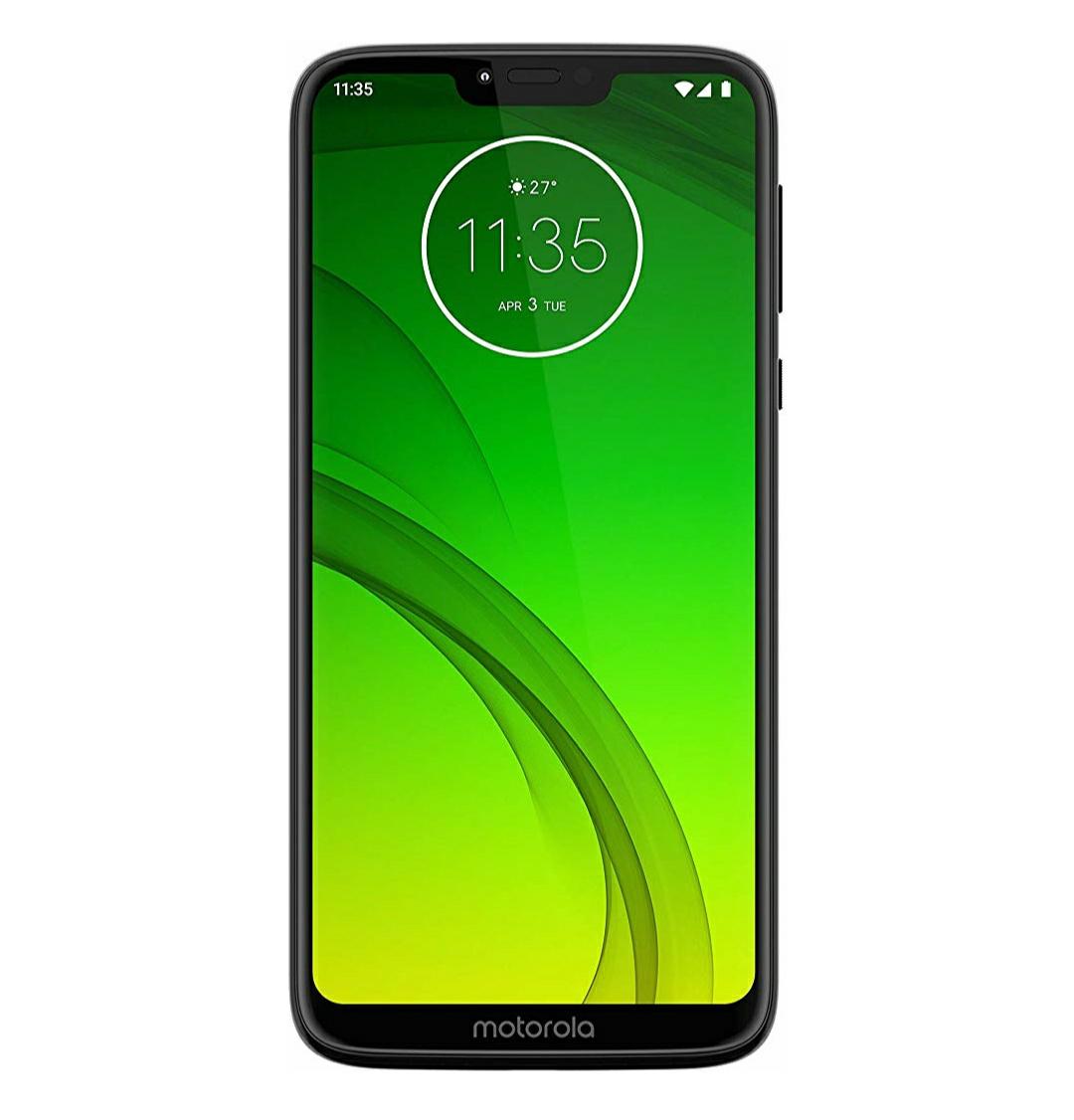 Motorola Moto G7 Power 6.2-Inch Android 9.0 Pie UK Sim-Free Smartphone with 4GB RAM and 64GB Storage (Single Sim) – Black £179 @ Amazon