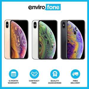 Apple iPhone XS 64GB SIM Free Unlocked Refurbished Pristine - £711.55 @ envirofoneshop / eBay (5% off at checkout)