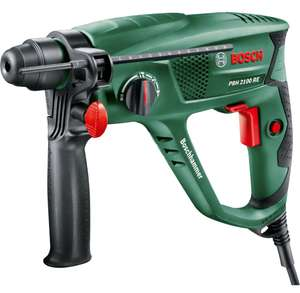Bosch PBH 2100 RE SDS Electric Pneumatic Rotary Hammer Drill - 550W - £37 @ Homebase (Free C&C)