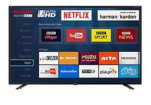 Sharp LC-70UI9362K 70 inch 4K UHD Smart LED TV (5 years warranty) £899.99 from 18/02/2019 Delivered @ Costco