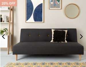 Habitat Axel Sofa Bed only £215.60 today only