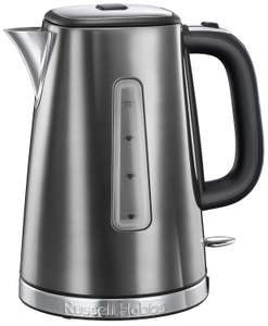 Russell Hobbs 23211 Luna Quiet Boil Electric Kettle, Stainless Steel, 3000 W, 1.7 Litre, Grey £20.99 @ Amazon