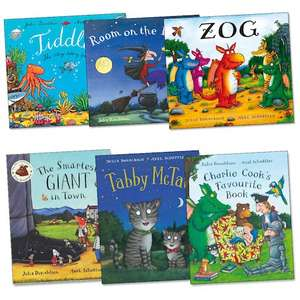 Julia Donaldson story books including The Gruffalo - Any 2 for £7 at Tesco