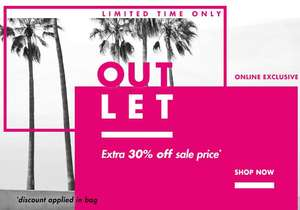 Boux Avenue extra 30% off sale items - online exclusive (discount applied in bag)