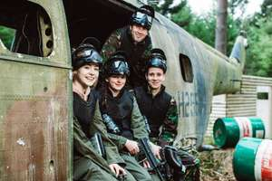 Free UK Paintball for 5 via O2 Priority