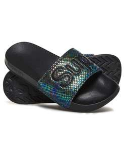 Superdry women's pool sliders half price - £8.50 at Superdry online. Free delivery & returns