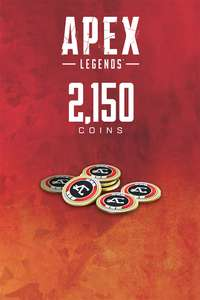 Apex Legends 2150 Apex coins £3.16 from Xbox Turkey Store