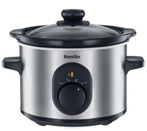 Breville 1.5L Slow Cooker for £12.74 Free C&C w/c @ RobertDyas