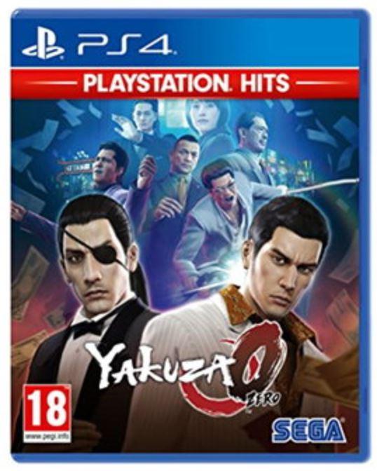 Yakuza 0 PlayStation Hits (PS4) for £12.85 Delivered @ Base