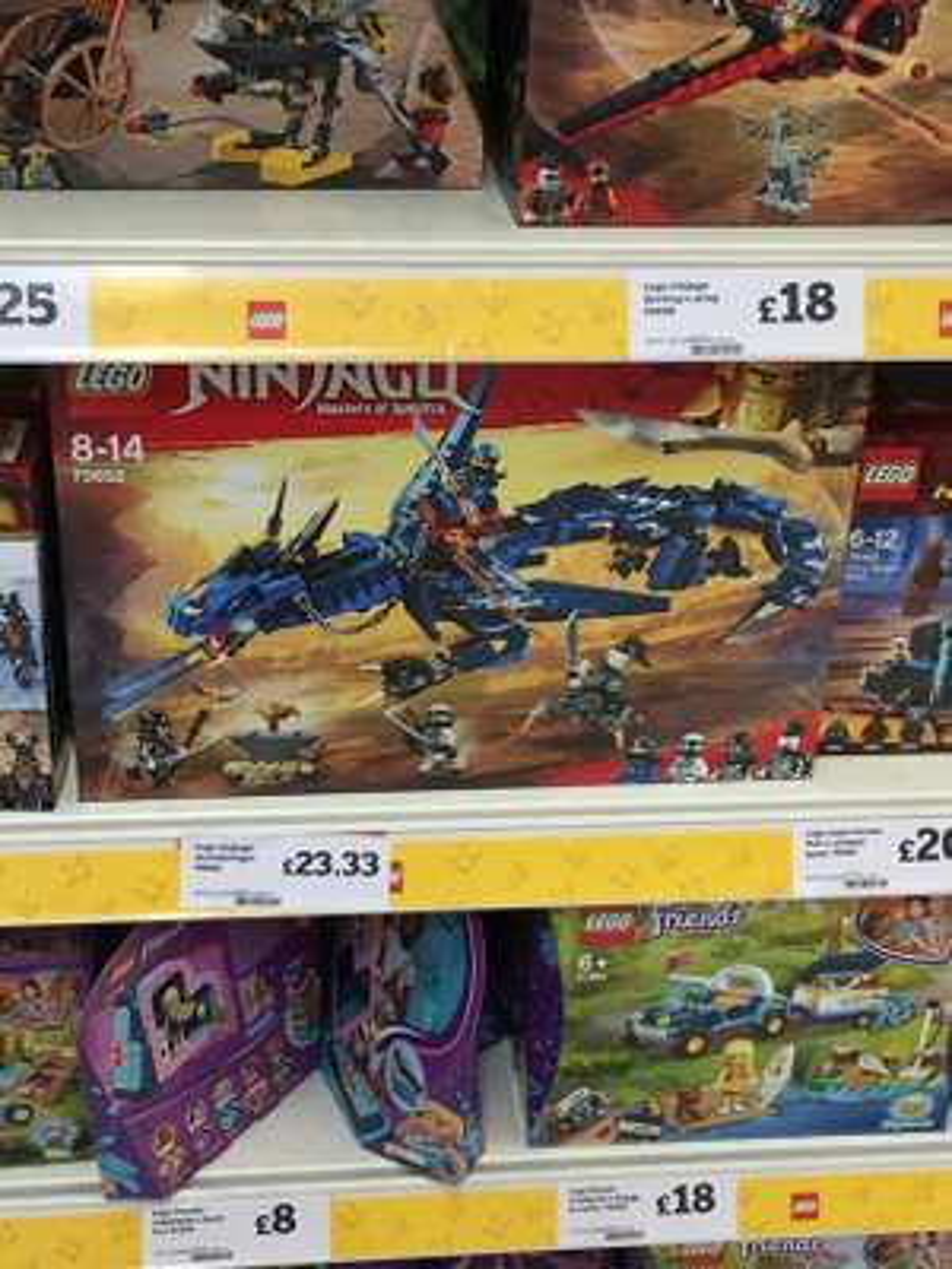 Lego Ninjago Stormbringer Dragon Blue 70652 - Sainsburys - £23.33