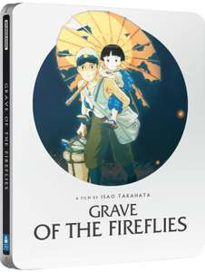 Studio Ghibli: Grave Of The Fireflies and The Red Turtle Blu-ray Steelbooks £9.99 each at Zavvi