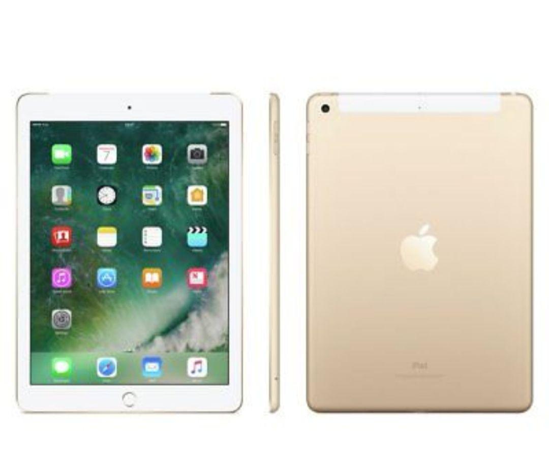 Brand New Apple iPad 5 32GB WiFi + Cellular (4g) Unlocked Tablet - Gold 08b1f503c4