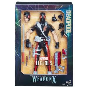 2 Action Figures for £16.99 @ Zavvi (e.g Marvel Legends: Action Figure: Deadpool Weapon X normally £29.99 for one) delivery 99p
