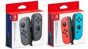 Nintendo Switch Joy-Con Controller Pair - Neon Red / Blue or Grey £59.95 Free delivery @ The Game Collection