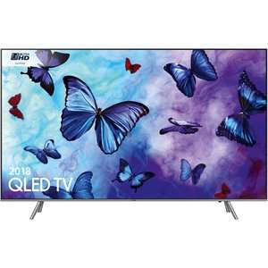 Samsung QLED 55 inch TV Quantum Dot 2018 HDR 10+. 5 years guarantee £859.99 + £29.99 Delivery @ District Electricals