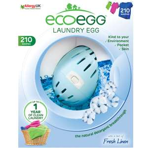 Ecoegg 210-Wash Soft Cotton Laundry Egg £8.49 w/code C+C @ Robert Dyas
