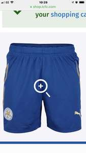 Leicester City Kids Home Shorts 2017/18 Now £3.00 ages 7-10 free C&C or + £3-95 delivery