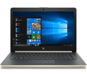 """HP 14-ck0520sa 14"""" Intel® Core™ i5 Laptop - 256 GB SSD, Gold at Currys for £399"""