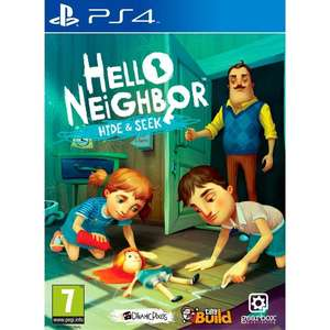 Hello Neighbour Hide and Seek PS4 £17.99 reduced from £27.99