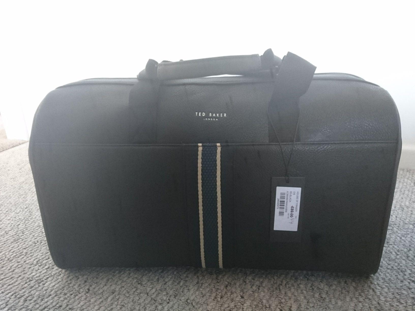 bbb5d5797027 Ted Baker Weekend Bag House of Fraser Skipton for £44 - hotukdeals