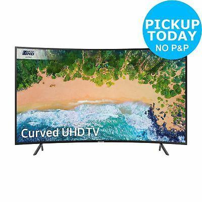 Samsung 49NU7300 49 Inch Curved 4K Ultra HD HDR Smart WiFi LED TV - Black - £479 @ eBay / Argos