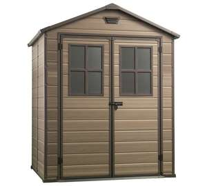 Keter Scala Plastic Garden Shed 6x5ft - £283.99 @ Argos
