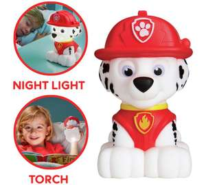 Paw Patrol Marshall GoGlow night light and torch £5.99 Argos free click and collect