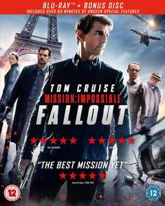 Mission: Impossible - Fallout - Blu-ray and HD download £10.99 @ SkyStore - Free Delivery