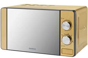 Goodmans 20L Digital Microwave - Gold for £10 @ B&M stores