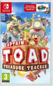Captain Toad Treasure Tracker @ Nintendo Switch eShop for £24.49