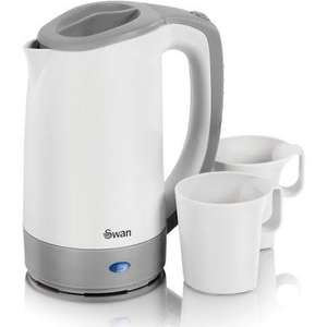 Travel Kettle + 2 cups, Swan brand £1 @ B&M