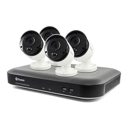 8 Channel 4 x 4K Ultra HD DVR CCTV Security System - Swann - £519.99