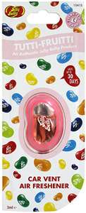 Jelly Belly Vent Membrane Air Freshener, Tutti Fruitti £2.00 as Add-on item @ Amazon