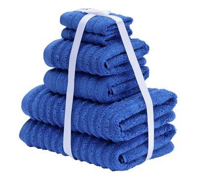Argos Home Quick Dry 6 Piece Towel Bale - Ink Blue/Dove Grey - £9 @ Argos - free C&C