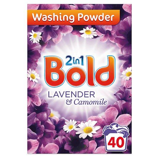 Bold 2 In 1 Washing Powder Lavender 2.6Kg £4 at Tesco
