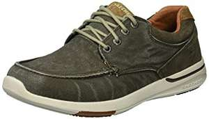 Skechers Men's 65494 Boat Shoes @ Amazon (size 6 to 12) (Green Olive) for £17.10 Prime (+ £4.49 non-Prime)