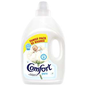 Comfort Fabric Conditioner 85 washes £3 @ Morrisons