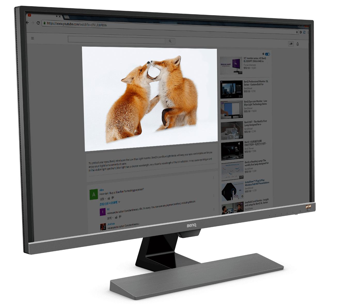 "BenQ EW3270U 32"" 4K HDR FreeSync 4ms (VA Panel) (+NVIDIA FreeSync) - £339.04 @ Amazon Italy"