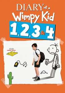 Diary of A Wimpy Kid 1-4 box set £9.99 was £23.99 @ Sky Store (HD digital) or £15.99 was £26.99 for HD digital & DVD