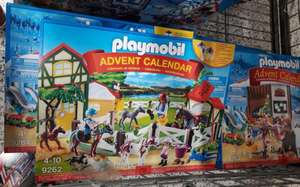 Asda Bristol - Playmobil advent calendars 9262 & 9264 now £5 instore