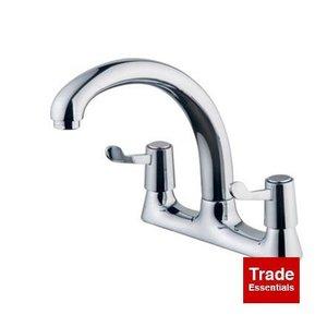 Wickes Modena Deck Kitchen Sink Mixer Tap - Chrome with 2 Year Warranty was £65 now £42 C+C @ Wickes