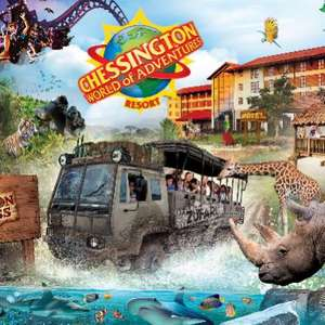 Hotel Stay + Breakfast + 2 day Theme Park Tickets with access to the Park, Zoo & Sea Life  - Family of 4 £181 / £45pp @ Chessington