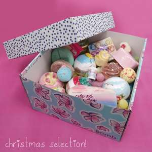 Bomb Lucky Dip Boxes are back £60 worth of christmas products for £25 delivered @ Bomb Cosmetics