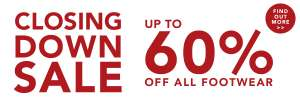Walktall closing down sale shoes size 12+ - up to 60% off