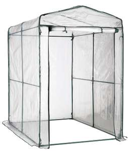 2m Walk-in Greenhouse for £27 @ B&Q (Free C&C)