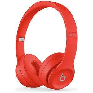 Refurnished Beats by Dre Solo 3 On-Ear Wireless Bluetooth Headphones - Red. £121.99 @ Argos / eBay