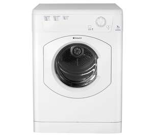 TVM570P 7kg Aquarius Vented Tumble Dryer £143.99 w/code @ Hotpoint Clearance